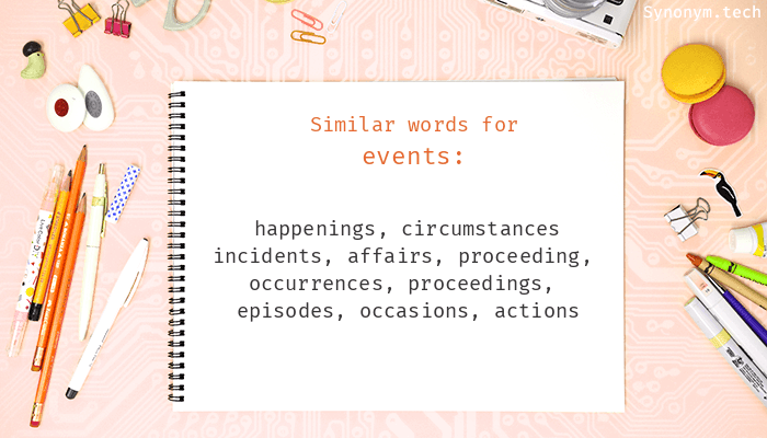 Events Synonyms