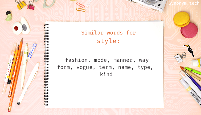 Style Synonyms